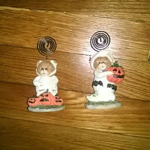 Accessories - Halloween Bear Picture Holders